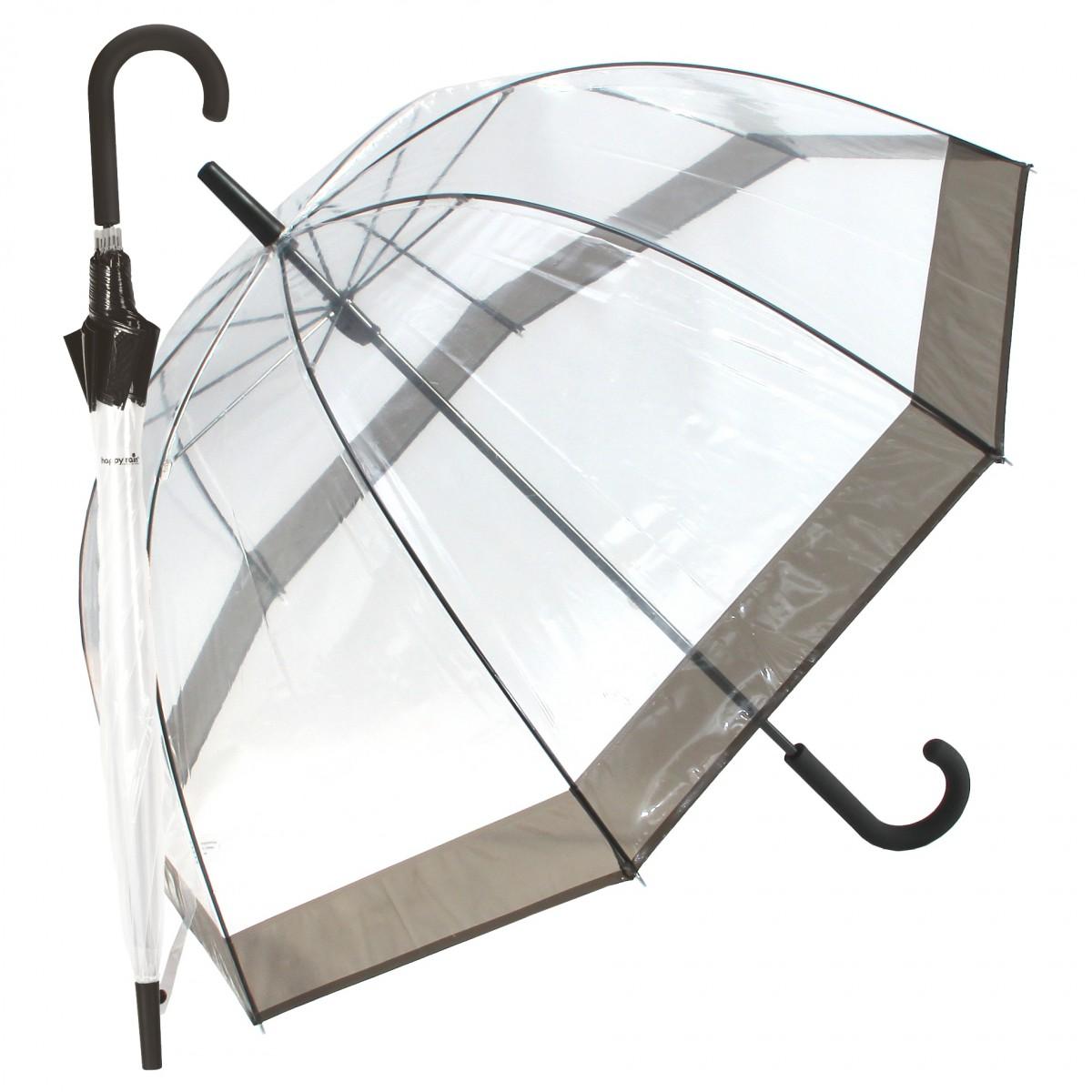 Regenschirm Transparent Glockenschirm