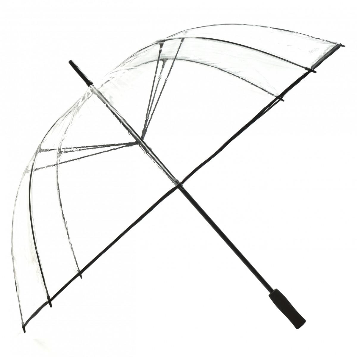 Regenschirm Golfschirm Transparent Durchsichtig XXL Lindy Lou
