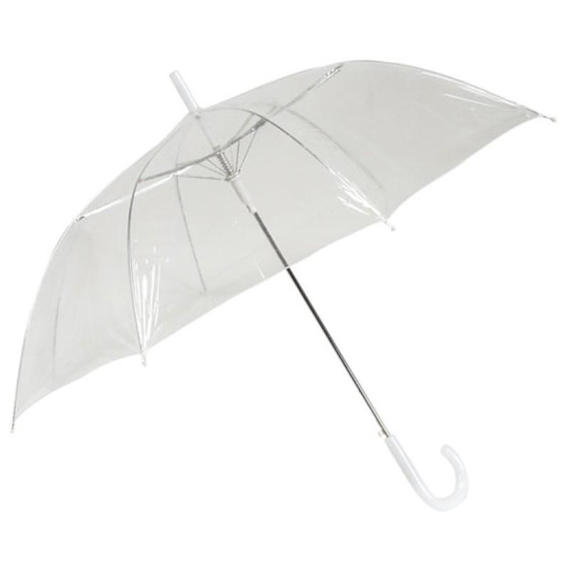 Regenschirm Transparent Durchsichtig Automatik