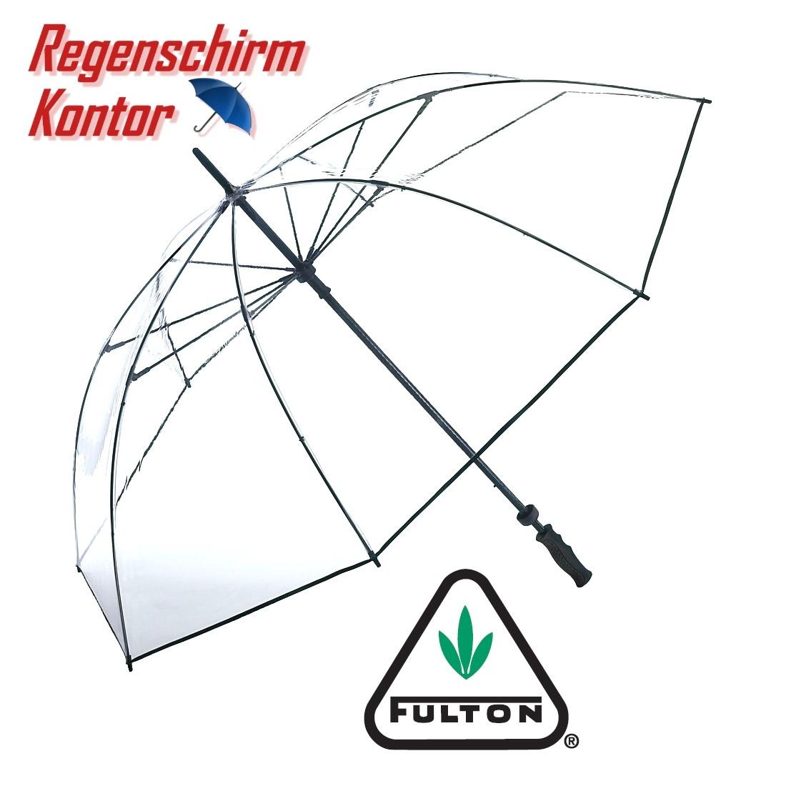 Regenschirm Golfschirm Partnerschirm transparent durchsichtig
