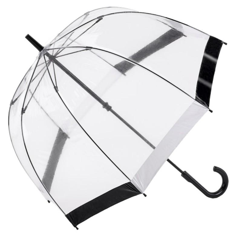 Glockenschirm Regenschirm transparent durchsichtig